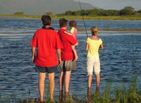 Tiger Fishing at Van Eck Dam