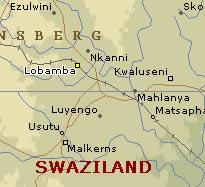 Lobamba map