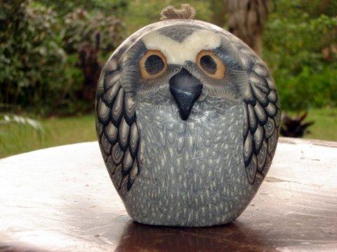 Swazi Candle - Owl