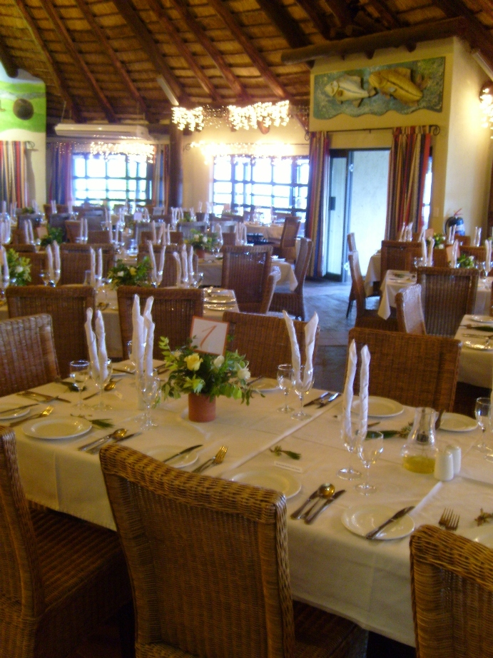 Dining Facilities at Maguga Lodge in Swaziland