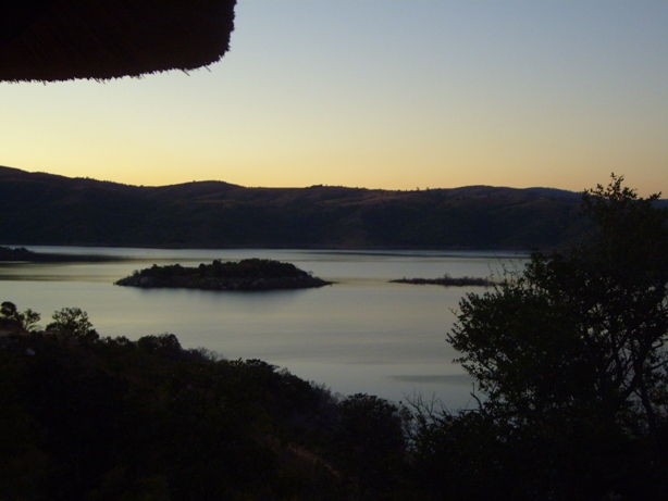 Sunset On the Maguga Dam in Swaziland