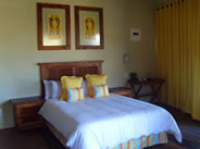 Bedroom at Maguga Lodge in Swaziland