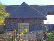 Entrance to Maguga Lodge in Swaziland