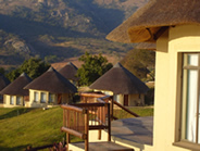 Rondawel Accommodation at Maguga Lodge in Swaziland