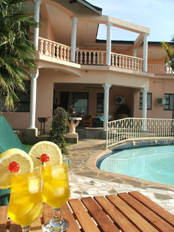 A Picture of The Lebombo Villa from the pool